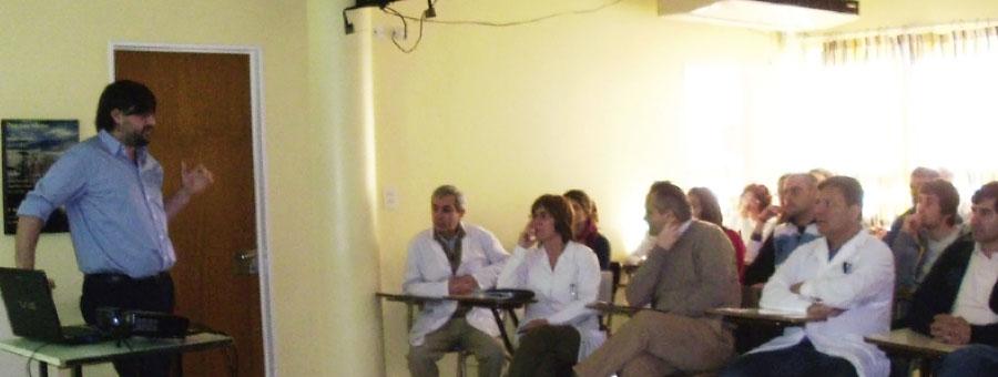 Cucaiba capacitó sobre donación de órganos a los trabajadores del hospital Héctor Cura de Olavarría